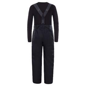 The North Face Youth Snowquest Suspender Plus Pants Black